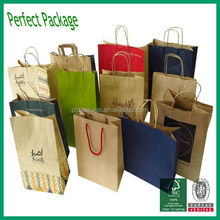 Hot sale customized paper bag for clothing