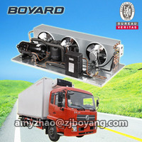 r404a rotary cooling compressor unit for refrigeration truck