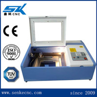 200*300mm work area 40W laser power stamp engraving micro laser cutting machine