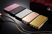 Flip cheap stand pu leather wallet cell phone case cover for iphone 5 5s