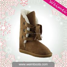 Lastest fashion newest design warm winter high heel shoes