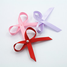 underwear ribbon bow with pearl decor