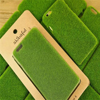 Shibaful Green Lawn Turf Grass Cellular Phone Case Cover For Apple iPhone 6