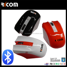 computer Ergonomic mouse bluetooth,bluetooth wireless optical mouse,smallest bluetooth device--BM6075--Shenzhen Ricom