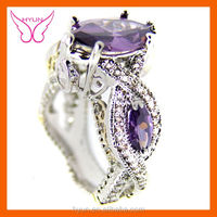 Hot Crazy Fashion wife Engagement Rings Wedding Rings