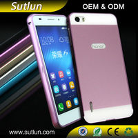 Wholesale aluminium metal bumper hard mobile phone back cover case for Samsung galaxy s3 s4 s5 s6 s6 edge note 2 3 4 J4 J5 J7