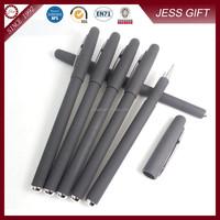 Black plastic roller pen Fancy ink pens sign pen