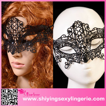 Cheap Wholesale Halloween Black Hollow-out Lace Dancing Ball Party Masquerade Mask