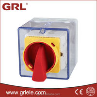Explosion proof electrical manual power on off switch