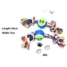 2015 china hot sales wholesale cotton rope pet toy