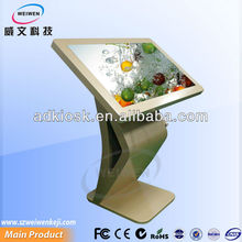 Slim Design Electronic digital advertising player with touch function