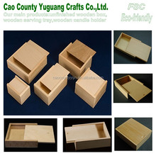 wooden box with sliding lid,packaging box with sliding lid,gift box