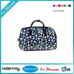 2015 fashion Detachable Best offer wheeled trolley travel bag