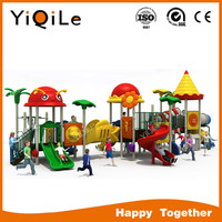Cartoon animal children plastic slide kids slide hot sell