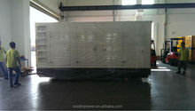 Diesel generator set 500KVA with Mitsubishi Engines by synchronous generator