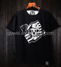 2015 new style fashion men rock band printed t-shirts without collar