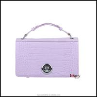 L-5225 Lelany luxury custom women handbag wholesale fashion ladies 100% genuine leather setchel bag for export