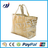 Fashionable high quality waterproof wholesale cheap shopping bag