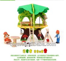 HOT Educational toy assembly tree house building