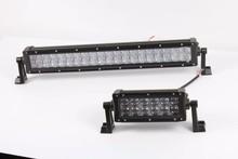 surper bright 4D lens led light bar, 72w led light bar,driving light head light for truck RV SUV ATV 4X4 offroad