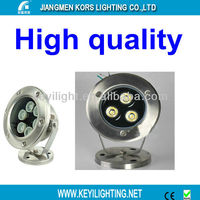50 watt led underwater lighting fixture with IP68 rating 12ac