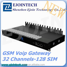 32 Ports VOIP GSM Gateway support 32 SIM Card 8 channels gsm unlock box