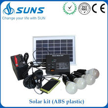 Alibaba golden china supplier ABS plastic portable mini buy solar panel system