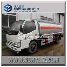 JMC oil fuel tank truck 4x2 refuel truck 5000 liters fuel tank truck