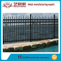 cheap sheet metal fence panels/cheap wrought iron fence panels for sale