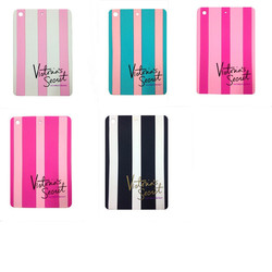 For Apple Tablet PC Victoria/'s Secret PINK Luxe Soft Stripe Rubber Case For ipad mini 1/2 For ipad 2/3/4