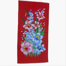 Hot Sell 2015 Reactive printing Cotton Beach Towel