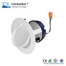120V-277V 9W 4 Inch Adjustable Gimbal Recessed LED Downlight Retrofit