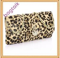 CE053 Hot Selling Leopard Clutch Or Evening Bag
