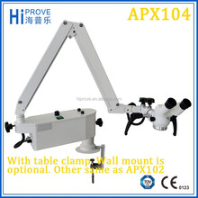APX104 Operating Microscope With Table Clamp Wall Mount Used In Ophthalmology And Dental