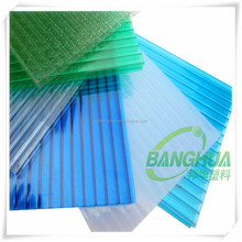 greenhouse polycarbonate hollow sheet for roofing