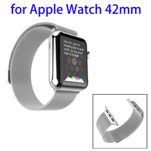 OEM Service HOCO Grant Series Stainless Steel Stainless Steel Watchband for Apple Watch 42mm with Adapter