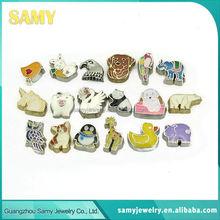 Low price hot sale high quality custom made logo jewelry charms