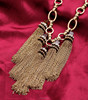 Hot Trending for Women Accessories Tassel Chains Collar Pendant Necklace N2371