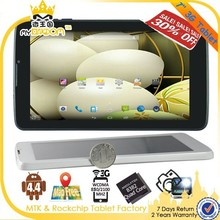 Quad core android 4.4 7 inch smart android tablet pc with keyboard and sim card