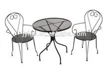 jardín de metal muebles baratos conjunto bistro
