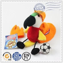 Wholesale 100%Cotton Cute Soft basketball designed key chain
