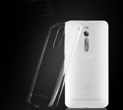 """Factory Hot Case For ASUS Zenfone 2 Ultra-thin Soft TPU Crystal Clear Case Cover for zenfone2 ZE551ML 5.5"""" Transparent Back Case"""