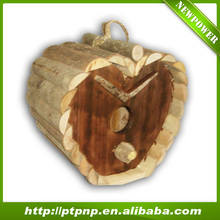2015 Natural handmade outdoor decorative bird house for garden / Pet Cages, Carriers & Houses