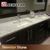 Newstar hot sale bath marble stone vanity top pattern