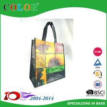 2015 Wenzhou hot flower design opp packing bag