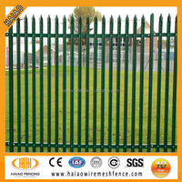 Hot sale painting europe palisade style fence ( low price )