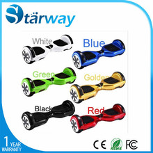 Starway Factory Price 2015 new products 2 wheel Scooter Classical 6.5inch two wheel smart balance electric scooter