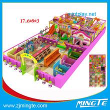 indoor playground children used playground equipment guangzhou soft play toys Soft Play Playground