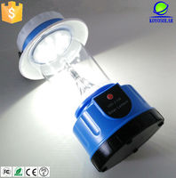 Camping Lights Item Type and CE,RoHS Certification led hand lamp with battery charged