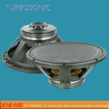 18 inch china subwoofer